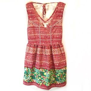 Band of Gypsies Boho Tunic Sleeveless Dress Small